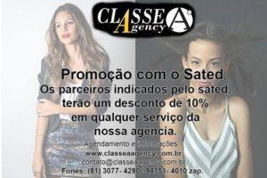 SATED-PE em parceria com  a Classe A Agency por Fernando Raphael e Fabiana Schreiner.