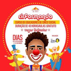 CirFormando – Curso de Educadores de Circo Social.
